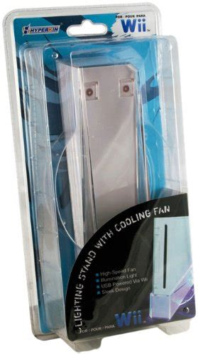 Wii Cooling Fan Stand Kipas Wii Led Blue awardpedia wii system lighting stand with cooling fan