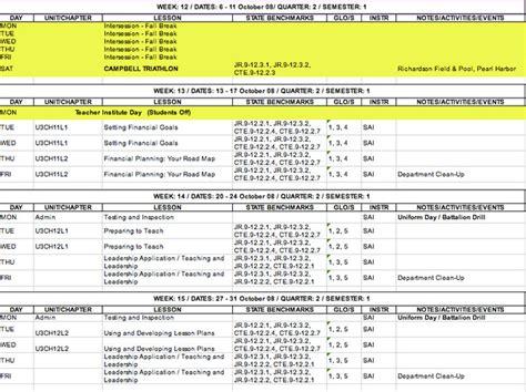 Let Iv Nanakuli Golden Hawks Jrotc Jrotc Schedule Template