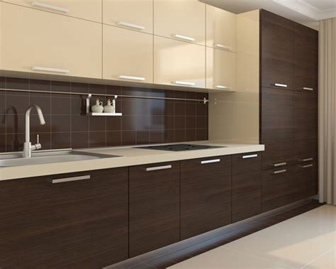 despensa definition modern cream gloss thermoform and melamine woodgrain kitchen