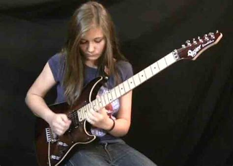14 year old tina wails on van halens eruption best video 14 year old covers quot eruption quot by van halen cdllife
