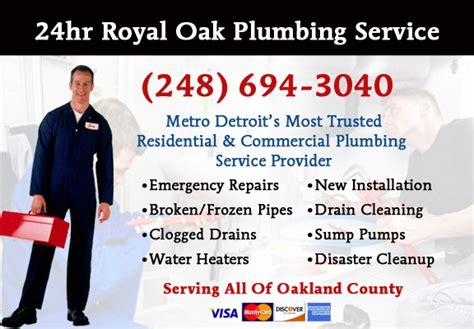 Royal Oak Plumbing by Emergency Plumbing Services Royal Oak Michigan Plumbers