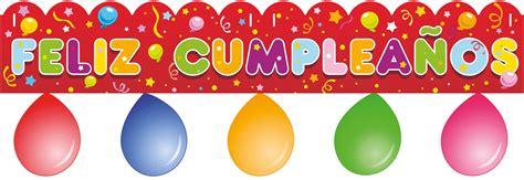 imagenes que digan feliz cumpleaños julio guirnalda feliz cumplea 241 os con globos disfrazman 237 a