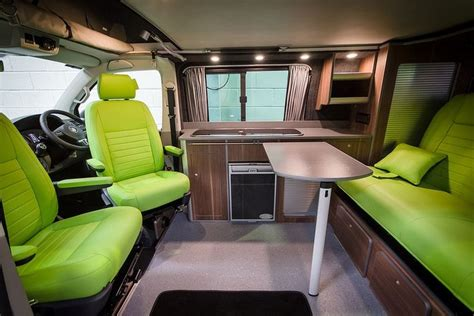 vw transporter cer interior ideas nwcc s vw t5 traditional cer conversion with sca