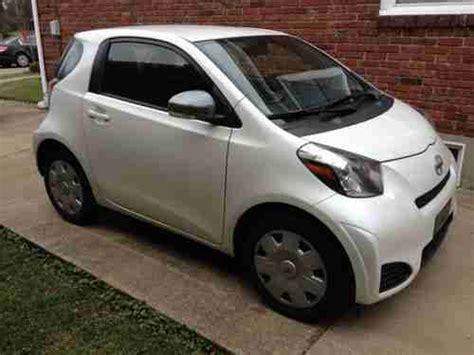 scion warranty purchase used scion iq pearl white 100k warranty 2year