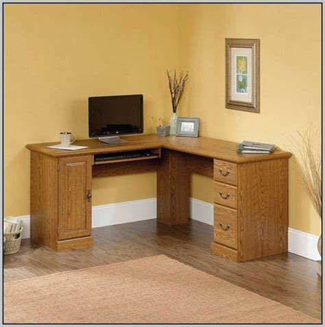 Computer Desk Unit Solid Oak Corner Desk Unit Desk Home Design Ideas Qvp26exprg80864