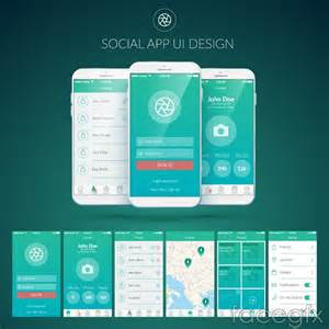 design apps free mobile social networking application user interface of