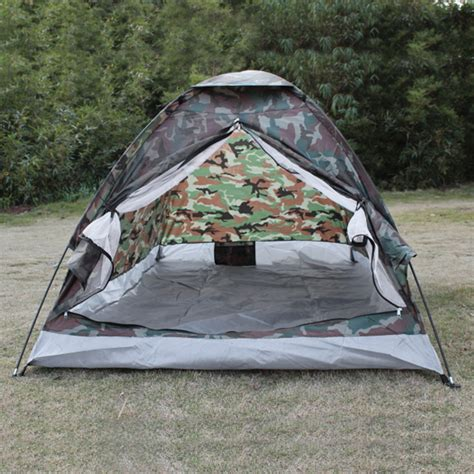 Kupluk Hiking 6 In 1 outdoor 200 130 110cm pu1000mm polyester 2 person single layer 1 2kg portable camouflage