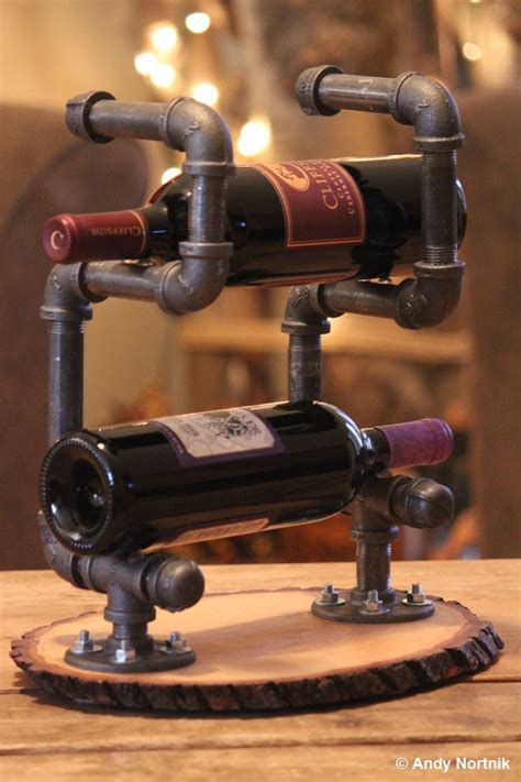 Handmade Wine Racks - 24 unique handmade wine rack designs