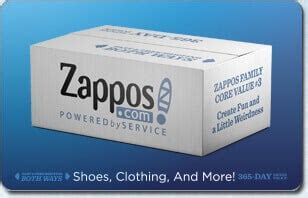 Sell Zappos Gift Card - zappos com