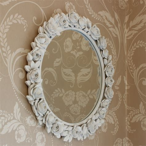 white wall mirrors decorative white decorative wall mirror melody maison 174