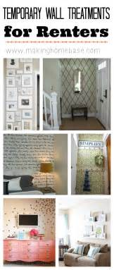 Temporary Wall Coverings by Temporary Wall Treatment Ideas To Spruce Up Your Rental