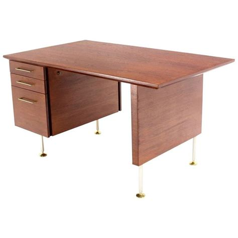 Modern Desk For Sale Walnut Mid Century Modern Desk For Sale At 1stdibs