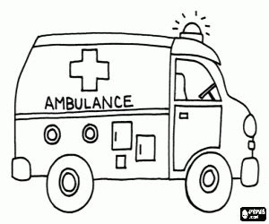 emergency vehicles coloring pages printable games 2