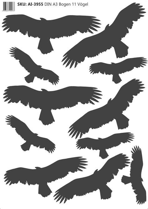 Autoaufkleber Vogel by Vogel Aufkleber Verhindert Vogelschlag Und Vogelprall