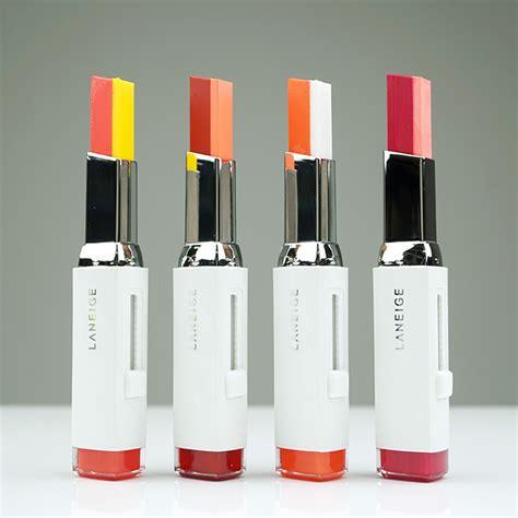 Laneige Two Tone Lip Bar labiales bicolor la tendencia atrevida perfecta para