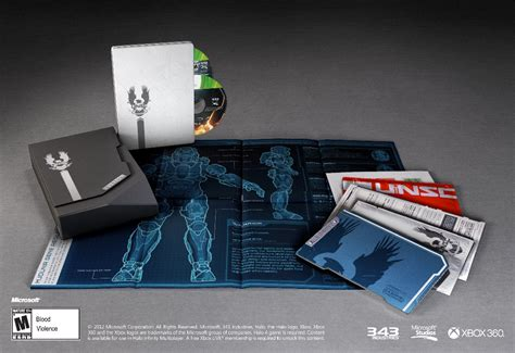 Xbox 360 Halo 4 Limited Edition halo 4 limited edition content and packaging