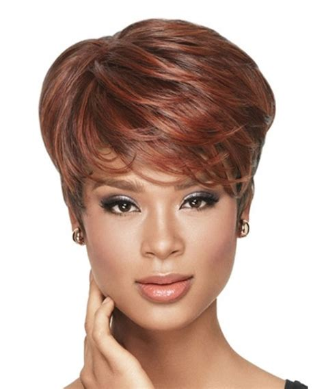 Hairstyle Tapered Wigs by Best Haircut Tapered Tomboy Synthetic Capless Wig