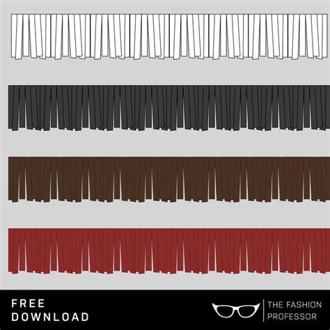 illustrator pattern brush free download free vector download fringe brush the fashion professor