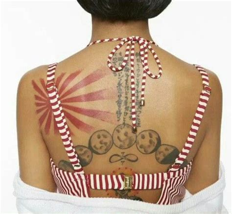 jhene aiko back tattoo 126 best images about jhene aiko on