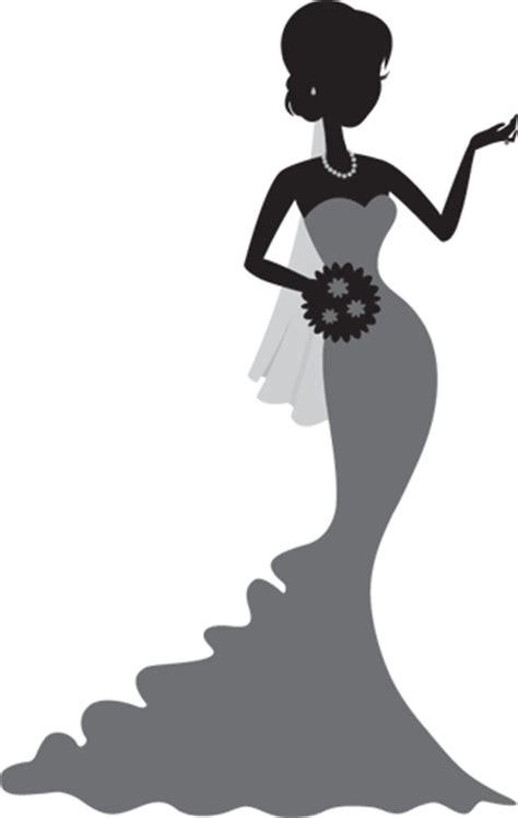 10 Best Wedding Planner Apps Free Clipart Bride Silhouette