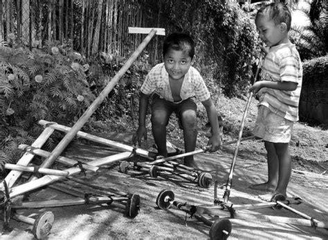 Pel Karet Dorong permainan tradisional koto anau kotoanauweb