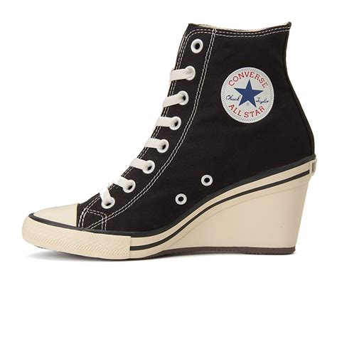 converse wedges sneakers converse all wedge hi high heel sneakers