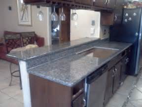Pictures Of Granite Countertops Kitchen Style Blue Pearl Granite Countertop
