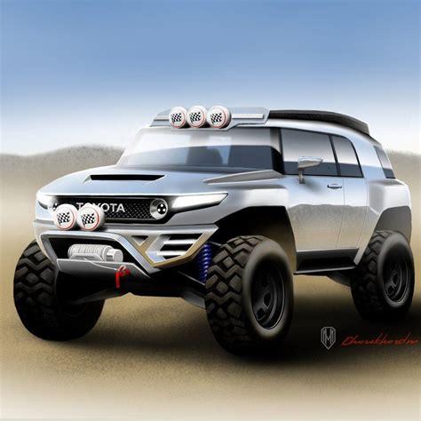 toyota fj cruiser road concept design favorite cars