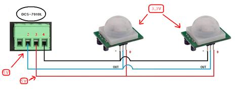 sensor pir in parallel electrical engineering stack