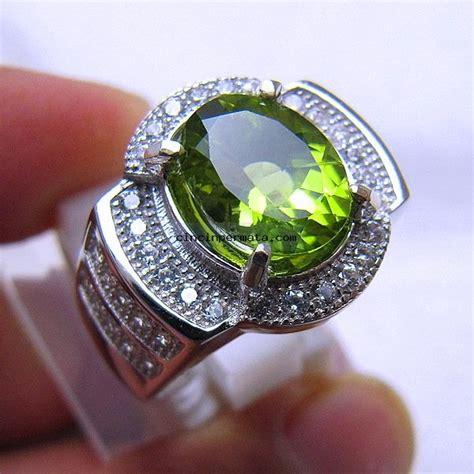 Promo Murah Green Opal Top 2 batu mulia peridot blink blink cincinpermata jual