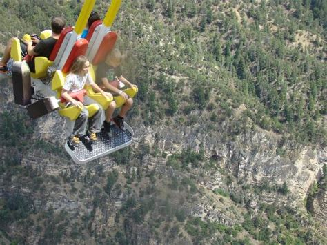 grand canyon swing giant canyon swing picture of glenwood caverns adventure