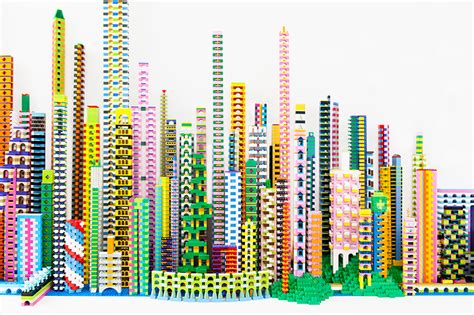 designboom about laird kay s lego city critiques the artificial