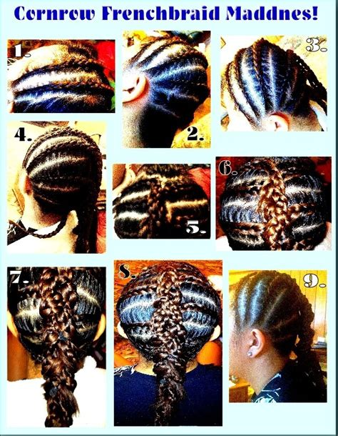how to braid hair step by step black hair pin by whittney dallaire on hairstyles pinterest