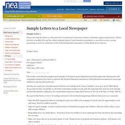 format for writing a letter to the editor sle cover