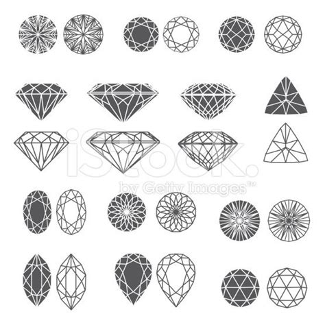 diamond tattoo vector vector set of diamond design elements cutting sles