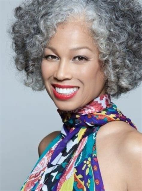 natural gray hair styles for black women 45 natural grey hairstyles for women of every age