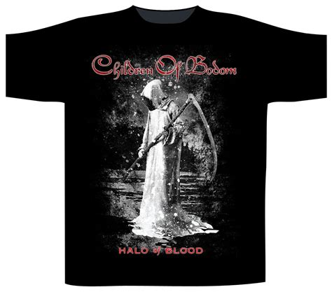 Children Of Bodom T Shirt children of bodom halo of blood t shirt heavy metal