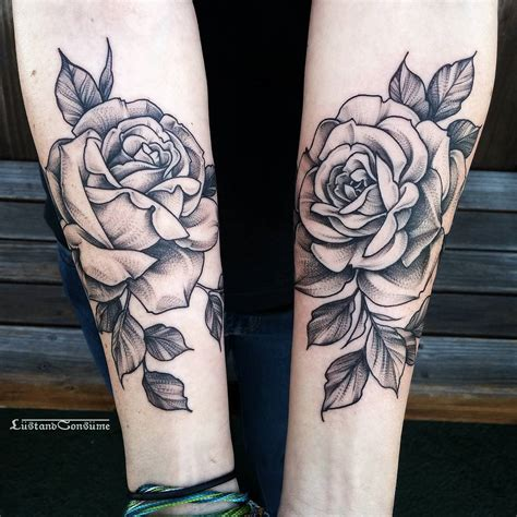 rose tattoo on arm 27 inspiring tattoos designs piercings and