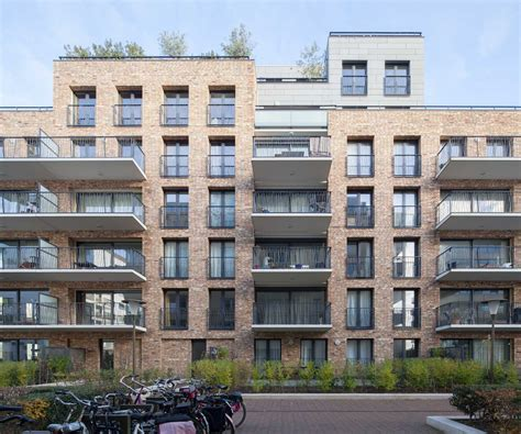 Appartment Building by De Halve Maen Apartment Building Mecanoo Archdaily