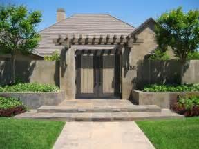 front entry gate contemporary landscape sacramento by westfall design studio