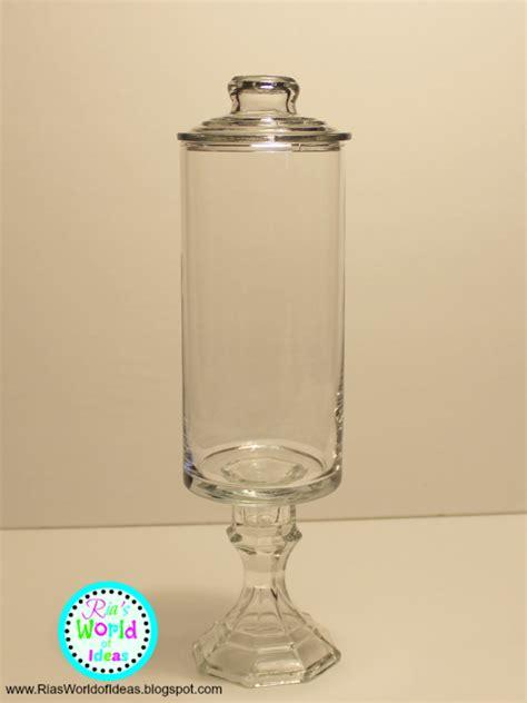 apothecary jars ria s world of ideas s day dollar tree