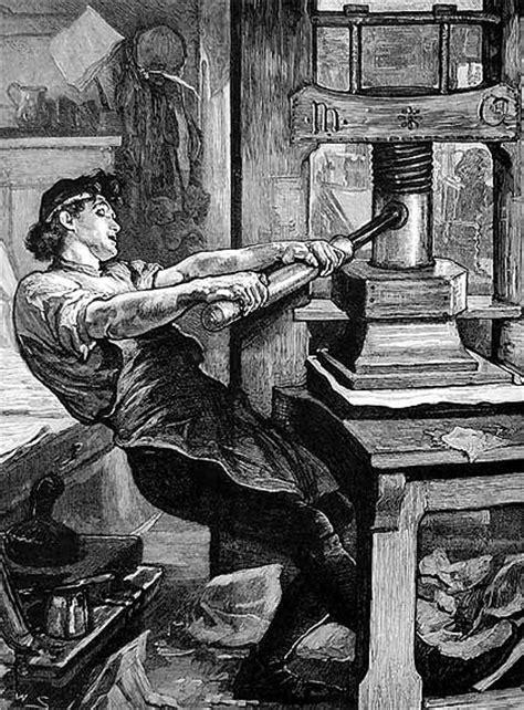 Johannes Gutenberg. La imprenta