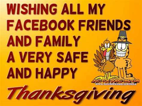 wishing   facebook friends  happy thanksgiving
