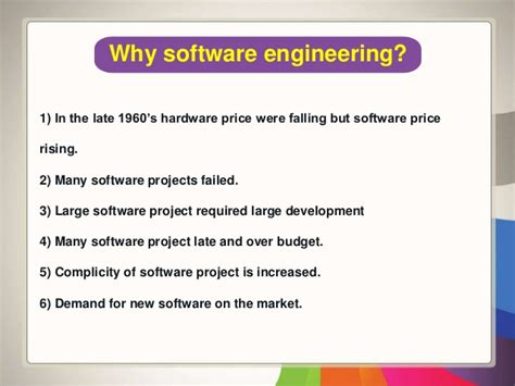 Why Software Engineer Do Mba by Basics Of Software Engineering
