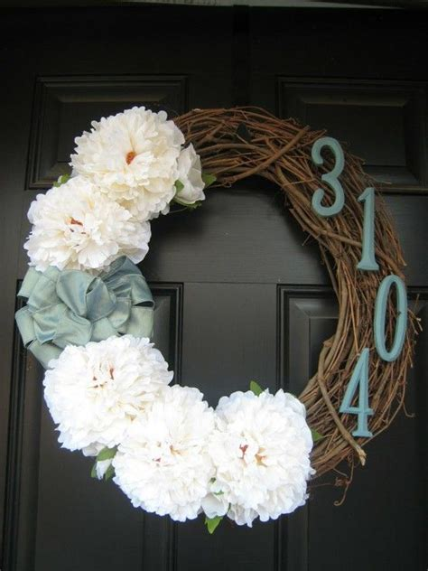 diy front door wreaths home decor pinterest