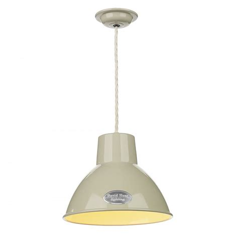 Retro Pendant Light Characterful Retro Enamel Ceiling Pendant Light In Painted Finish