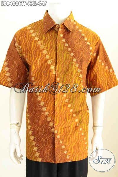 Baju Pria Big Size baju batik pria big size istimewa harga biasa kemeja batik elegan lengan pendek pake