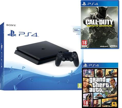 Bluray Ps4 Call Of Duty Infinite Warfare buy playstation 4 slim call of duty infinite warfare grand theft auto v bundle 500 gb