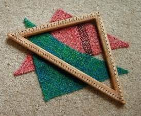 triangle loom pattern 17 best images about weaving triangle on pinterest loom