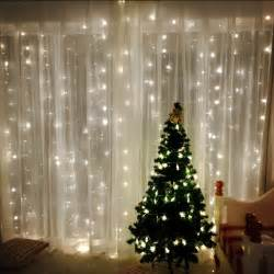 2 2 m led string lights holiday lighting curtain garland